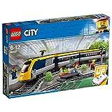LEGO 60197 City Passenger RC Train Toy, Construction Track Set for Kids