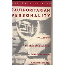 The Authoritarian Personality (Studies in Prejudice) by Theodor W. Adorno (1993-11-01)