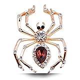 Spider Crystal Brosche Strasssteine für Hochzeit Boutonniere