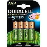 DURACELL Blister de 4 piles rechargeables HR6 AA 2400 MAH