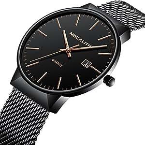 herren uhren m nner luxus 30m wasserdicht datum kalender einfach design analog quarz armbanduhr. Black Bedroom Furniture Sets. Home Design Ideas