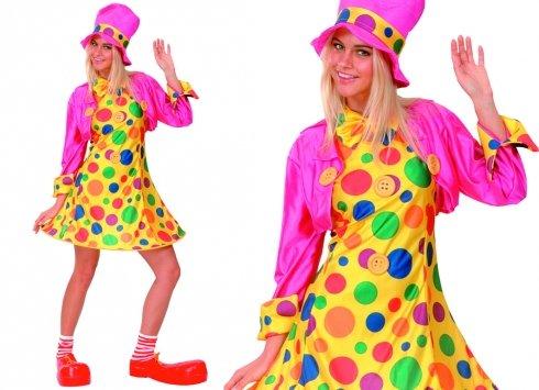 Fantasy Dress Up Clown Lady (Clown Lady Kostüme)