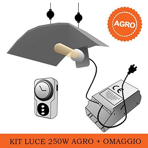 Galleria fotografica Kit Luce AGRO Super Lumens - 250W + Omaggio