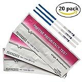 Home Health - 20 test de embarazo ultrasensibles (10mIU/ml) 20 HCG