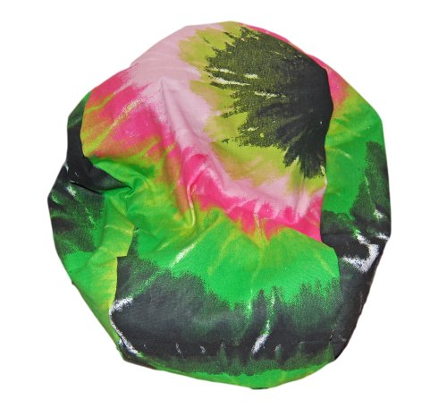 Ahh! Products Tie Dye Pink Multi Bean Bag Chair for Dolls