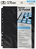 Ultimate Guard UGD010495 - 32-Pocket Pages Standardgröße und Mini American, schwarz (10)