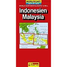 Carte routière : Indonésie - Malaisie