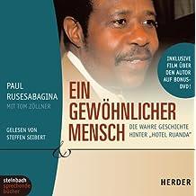 """Ein gewöhnlicher Mensch. Die wahre Geschichte hinter """"Hotel Ruanda"""". 4 CDs + Bonus-DVD"""