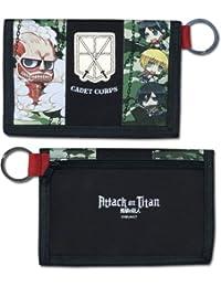 Preisvergleich für Wallet–Attack on Titan–SD Gruppe Camo Toys Anime Lizenzprodukt ge80221