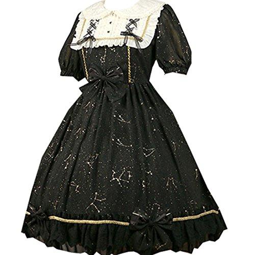 Partiss - Robe - Plissée - Femme XX-Large Noir