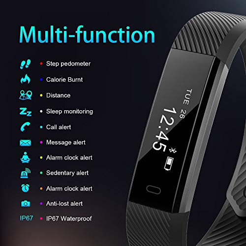 Zoom IMG-2 aimiuvei fitness tracker smartwatch orologio