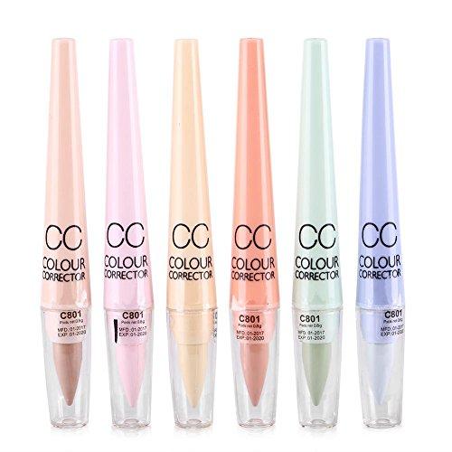 CC Concealer Augen Augenringe Spot Dullness Korrekte Bleistift Textmarker Makeup Werkzeug 6...