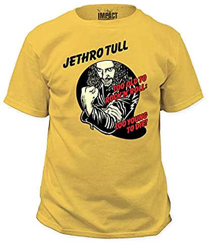 Jethro Tull Too Young To Die T-Shirt Small