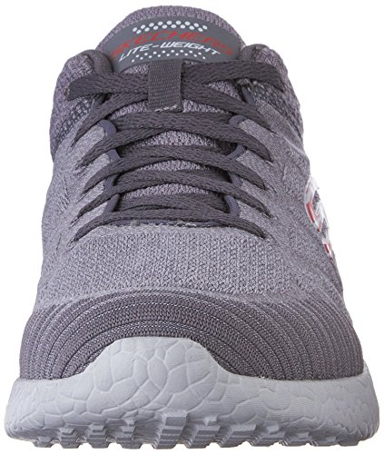 Skechers Burst Deal Closer Charcoal/Red