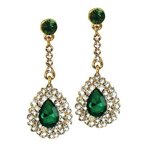 ritz-emerald-y-tono-de-oro-drop-de-cristal-transparente-con-caja-de-regalo-juego-de-pendientes-de-pe