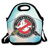 Bakeiy Ghost Gun Lunchtasche aus Neopren für Kinder und Erwachsene für Reisen und Picknickschule