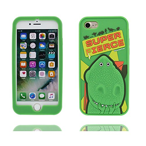 "Hülle iPhone 6 Plus Cover, 3D Cartoon Japan Cartoon Verstecktes Gesicht, Case iPhone 6s Plus Handyhülle, TPU Flexible Durable Shock Dust Resistant, Shell iPhone 6 Plus Cover 5.5"" grün 1"