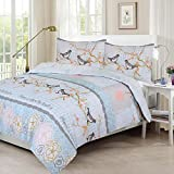 Brand New, Unique Design, Duvet Cover/ Quilt Cover Set, SWEET BIRDS, Available In All Sizes + Free U.K. Delivery (DOUBLE)