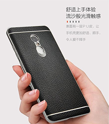 purchase cheap b2f37 170ba Redmi note 4 Case, CASECART Premium Leather Back Cover Case For Xiaomi  Redmi Note 4