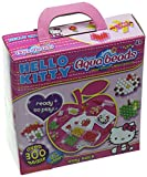 With Colourful Hello Kitty Aquabeads, Beautiful Creations are Simply a spray of water Away. Simply pick a Template Design and the Specially designed layout Tray to place your Beads in position, spray with water and the Beads magically Stick T...
