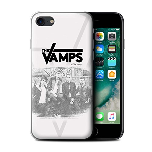 Officiel The Vamps Coque / Etui pour Apple iPhone 7 / Esquisser Design / The Vamps Séance Photo Collection Esquisser