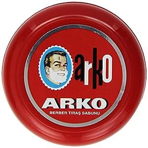 Arko Rasierseife in der Dose Shaving Soap in Bowl 90g – 1er Pack