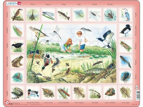 Lernpuzzle Am Teich (48 Teile)