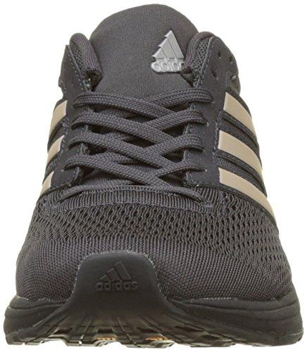 adidas Damen Adizero Boston 6 Laufschuhe Schwarz (Utility Black F16/Platin Met.S16/Core Black)