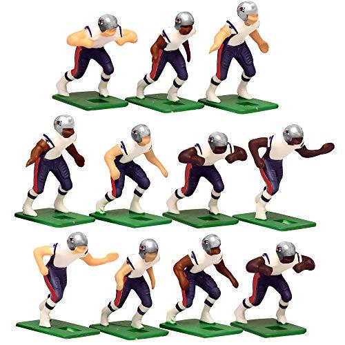 New England Patriots?White Uniform NFL Action Figure Set by Tudor Games