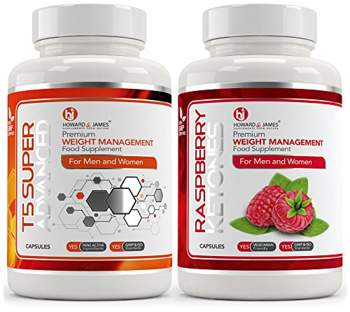 T5 Fat Burners X60 Raspberry Ketones 1000mg X60 Slimming