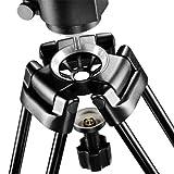 Walimex Pro EI-9901 Video-Pro-Stativ (max. Höhe 138 cm, Videoneiger, Mittelspinne, Belastbarkeit 6 kg und Stativtasche) - 4
