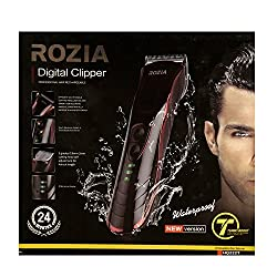 Rozia HQ222T Turbo Boost Rechargeable Digital Hair Trimmer