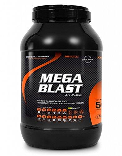 Preisvergleich Produktbild SRS Muscle - Mega Blast XXL, 3.800 g, Red Berry | Complete All-in-one Master Stack | ersetzt über 20 Einzelprodukte | entwickelt und hergestellt in Deutschland mit Premium-Rohstoffen
