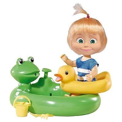 "Mascha i Medwed ""Mascha im Badeanzug"" Puppe mit Pool!"
