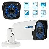 OWSOO Camera 2000TVL 1080P AHD Bullet Telecamera di Sorveglianza Impermeabile 2,0MP 3,6mm 1/3 Pollici per Sony CMOS Sensore 6 Array IR LEDS Visione Notturna IR-CUT Interno CCTV Sicurezza PAL Sistema