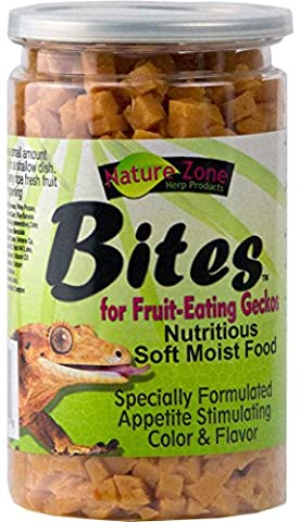 Nature Zone Ready To Eat Bites for Geckos Nutritious Complete