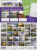 Poetische Landschaften - Wochenplaner 2019, Wandkalender im Hochformat (25x33 cm) - Wochenkalender mit Rätseln und Sudoku auf der Rückseite - Ackermann Kunstverlag