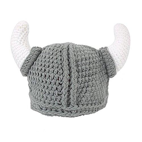 Bonnet Chapeau Casquette Tricoté Hiver Bébés Enfants Garçons Filles Corne
