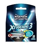 Wilkinson - Xtreme 3 - Lames de rasoir pour Homme - Pack de 8