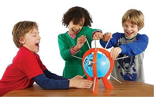 BALLON-Spiel-Aufregendes-Geschicklichkeitsspiel-Luftballon-Bumm-Bumm-Ballon-Reflex-Game-Partyspiel-Familienspiel