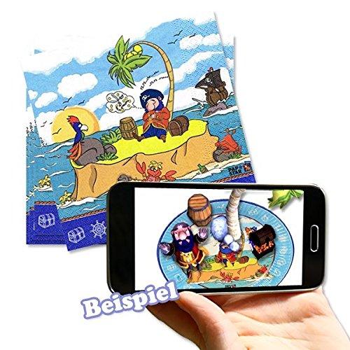 rwendbar mit Magic Xperience-App, 20er (Papier-trading-app)