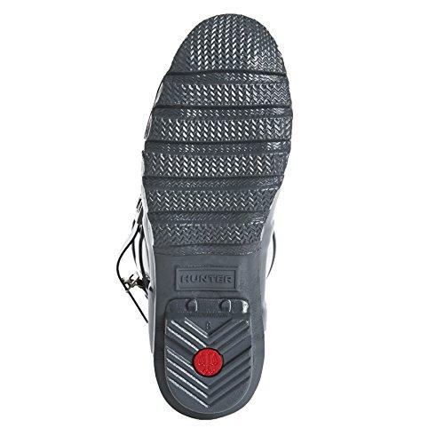 Hunter WOMENS ORIGINAL SHORT GLOSS - Stivali di gomma non imbottiti da donna Grafite
