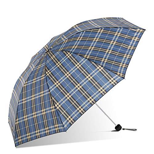 WAN Paraguas de Tela Escocesa para Soleado