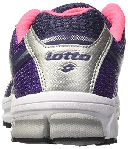 Lotto - Zenith V W, Scarpe da corsa Donna Multicolore (Rosa/Viola)