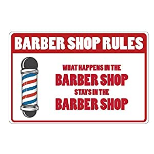 Barber Shop Rules What Happens In The Barber Shop Stays In