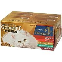GOURMET Gold dadini anatra/olive 85 gr. - Cibo per gatti