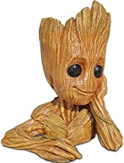 Unique Shape Guardians of The Galaxy 2: Baby Groot Wooden Look (Multicolour)
