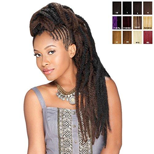 Sensationnel Syn. Afro Twist Braid - Bulk (1B (natürlich schwarz)) -
