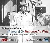 Maigret & Co - Meisterhafte Fälle: Hörspiele