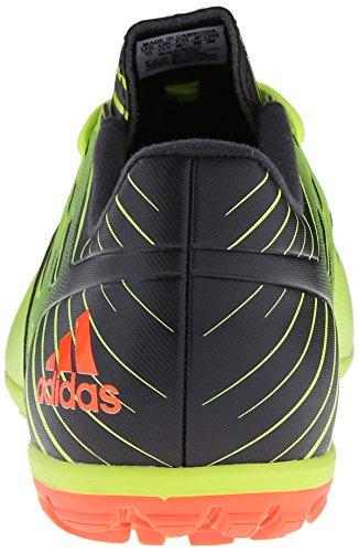 Adidas Performance Messi 15.3 Scarpe da calcio, nero / scossa verde / rosso solare, 6,5 M Us Semi Solar Slime/Solar Red/Black